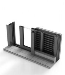 Drzwi wewnętrzne - system przesuwny 420o